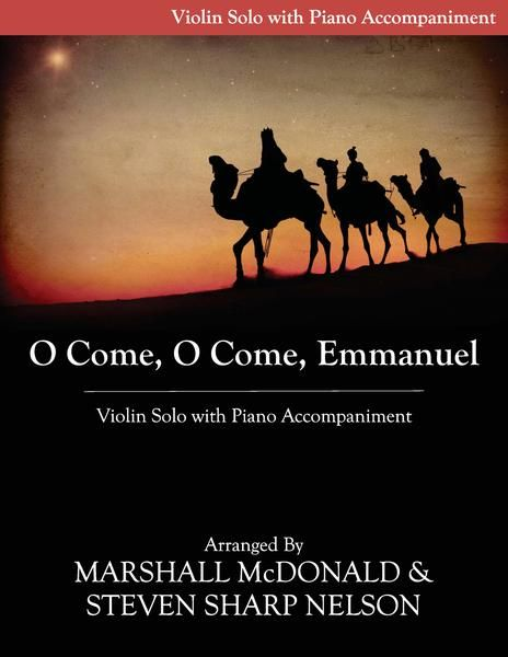 O Come O Come Emmanuel Violin Violin Viola Sheet Music
