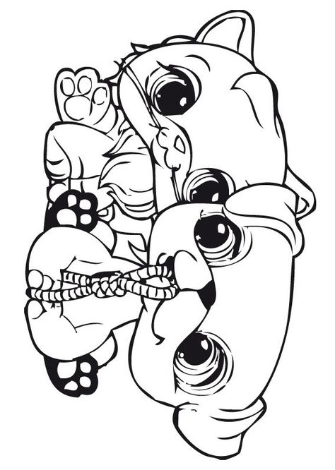Desenhos Para Pintar Littlest Pet Shop 21 Desenhos Para Colorir