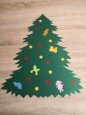 Fensterbild Tonkarton Weihnachten Advent Tannenbaum Mit Spielzeug Weihnachtsbaum Schablone Fensterbilder Weihnachten Krippe Weihnachten