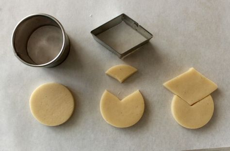 How to use cutters you probably already have to make cute graduation themed cookies. Think outside the cutter!
