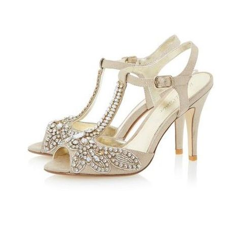 Designer Look Bridal Shoes On The High Street