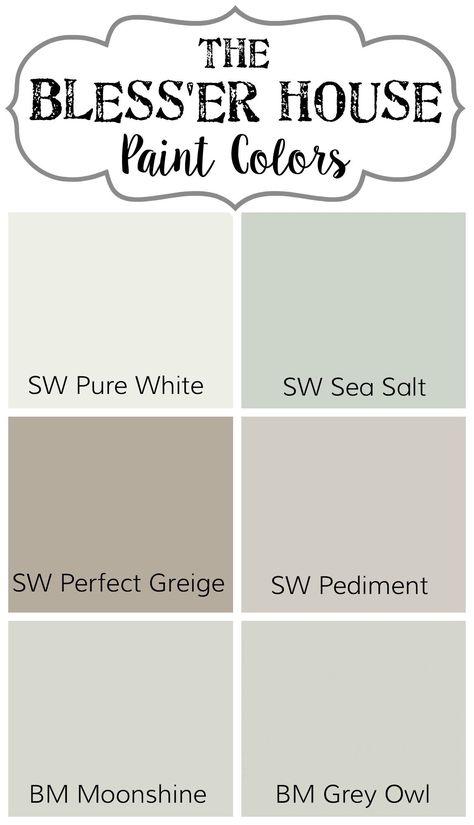 31 Ideas House Beautiful Paint Sea Salt
