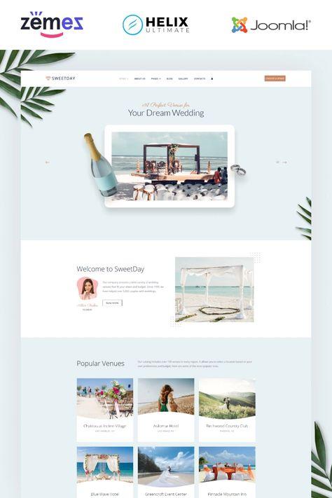 Wedding Agency Joomla Theme - TemplateMonster
