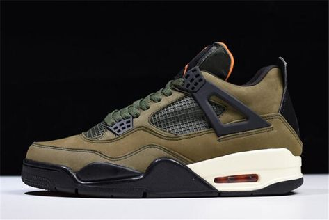 Olive and Orange Works Well on the Nike Air Max… Sneaker