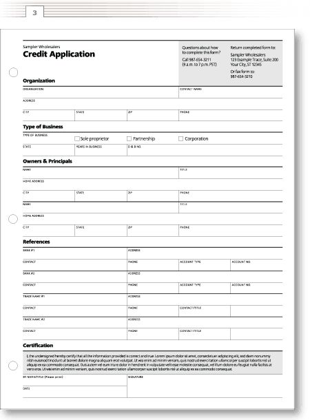 FAMILY MEMBERSHIP FORM An application form design for Enable - credit application
