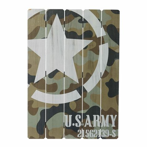 Creating an Army Bedroom