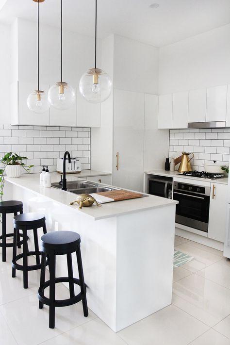 Blog Adore Home Magazine White Kitchen Design Small