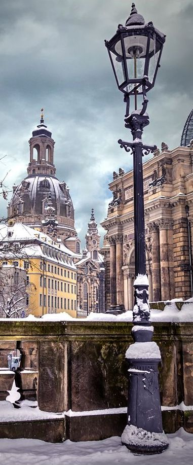 Dresden in Winter. A city with long history and incomparably beautifully. I love…