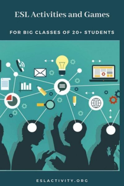 Esl Activities For Big Classes Top 20 Esl Games For Big Groups In 2020 Esl Activities Reading Lesson Plan Template Effective Teaching