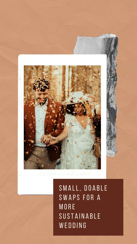 When you think about a large event it can be hard to ignore the waste and amount of trash that can be created. It is so possible to have a beautiful, elegant wedding while making small changes that can lead to a more sustainable event. Click the picture to check out a few ideas I've seen or done myself! #bohemianwedding #sustainableweddingideas #ecoweddingideas
