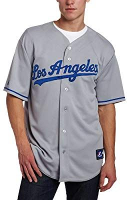 check out d06cb a61a6 Majestic Los Angeles Dodgers Replica MLB Jersey Away (XXL ...