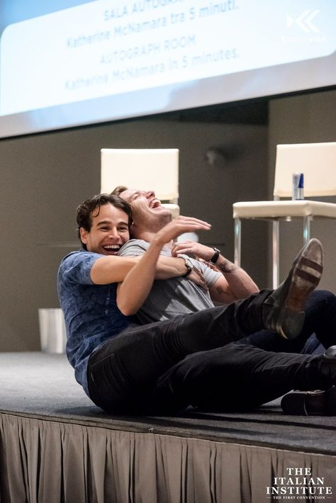 Alberto & Dom being their adorable selves!
