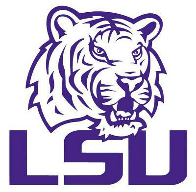 Lsu Tigers College Football Ncaa Color Sports Decal Sticker Buy 1 Get 1 Free In 2020 Lsu Tigers Logo Lsu Tigers Sports Decals