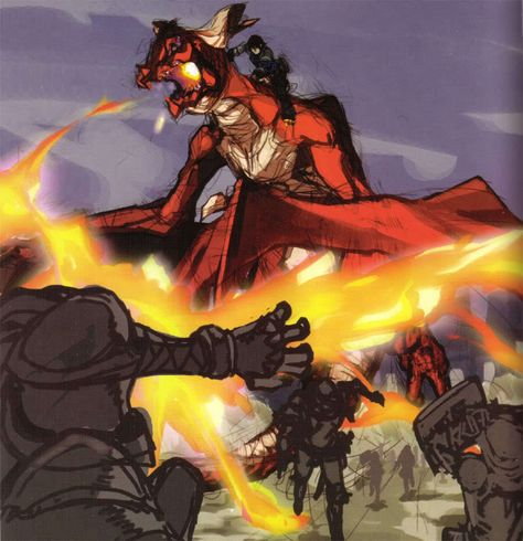 Angelus Drakengard Concept Art