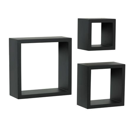 Knape Vogt 4 In X 9 In Floating Black Shadow Box Decorative