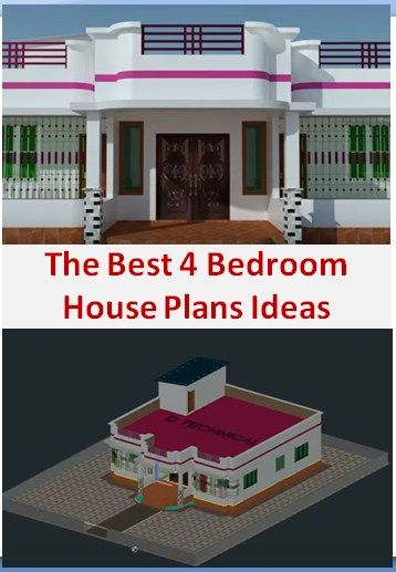 1590 Reviews The Best 4 Bedroom House Plans Ideas 4 Bedroom House 4 Bedroom House Plans Bedroom House Plans