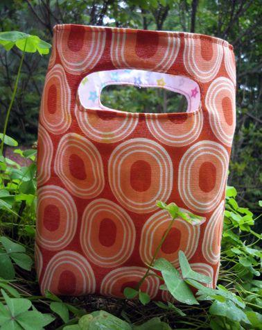 square bag pattern