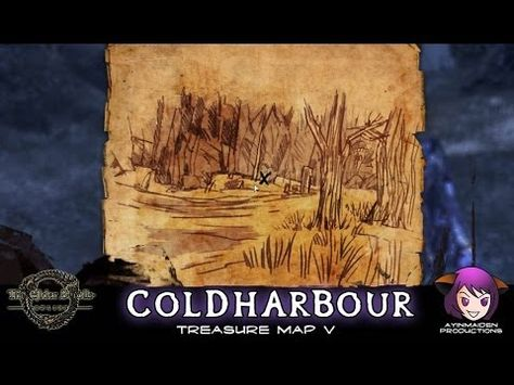 Coldharbour Treasure Map V | The Elder Scrolls | Treasure ... on alik'r ce treasure map, khenarthi's roost ce treasure map, way rest ce treasure map, kenarthi roost ce treasure map, dominion ce treasure map, reapers march ce treasure map, eso stone falls ce treasure map,