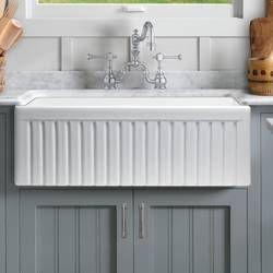 Fireclay 24 L X 19 W Farmhouse Apron Kitchen Sink Reviews Birch Lane