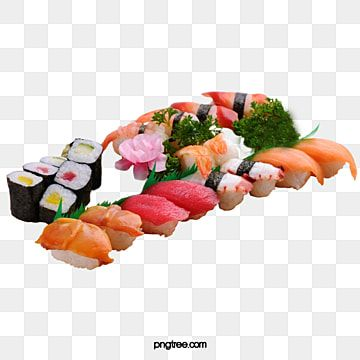 Sushi Clipart Food Clip Art Svg Clipart Commercial Png Etsy Food Clips Clip Art Spring Rolls