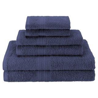 Miranda Haus Eco Friendly Cotton Soft And Absorbent 6 Piece Towel