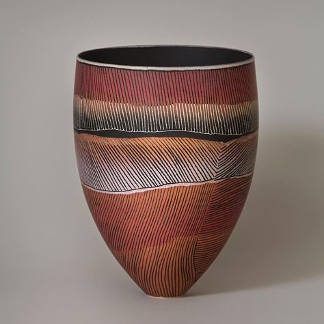 We Re Turning The Page On Our Current Issue With This Piece Entitled Bloodwood Well By Australian Ceramic Artist Pip Ceramic Artists Ceramics Porcelain Art