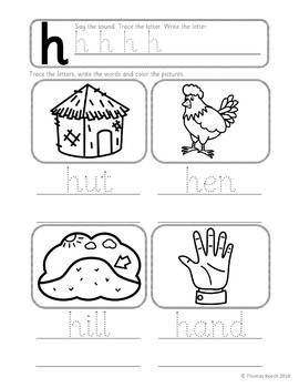 This Hh Lesson Pack Contains Everything You Need To Teach The H Phoneme And As You Follow Jolly Phonics 1 H Hat Phonics Worksheets Phonics Phonics Lessons