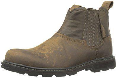 Skechers Brown Blaine Orson Mens Chelsea Boots for men
