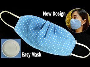 Small Sewing Projects, Sewing Hacks, Sewing Tutorials, Dress Tutorials, Easy Face Masks, Diy Face Mask, Techniques Couture, Sewing Techniques, Fabric Crafts