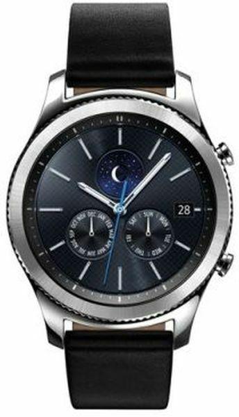 Smartwatch Gear S3 Classic Schwarz Samsung Armband Uhr Vorfahrmodell Smartwatch Samsung Bluetooth
