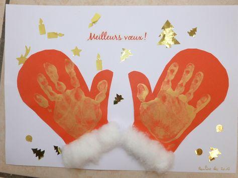 moufles de noël (Page 1) / Bricolage / activités manuelles / Assistante maternelle - assistante-maternelle.biz le site des assistantes maternelles agrées et parents employeurs