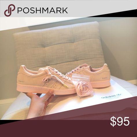 adidas superstar blush pink suede