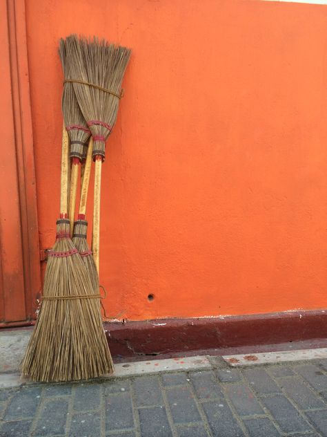 Sweep your troubles away..