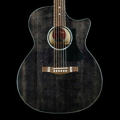 Eastman Pch3 Gace Tbk Black Top Cutaway Guitar W Gig Bag Guitar Acoustic Guitar Cutaway