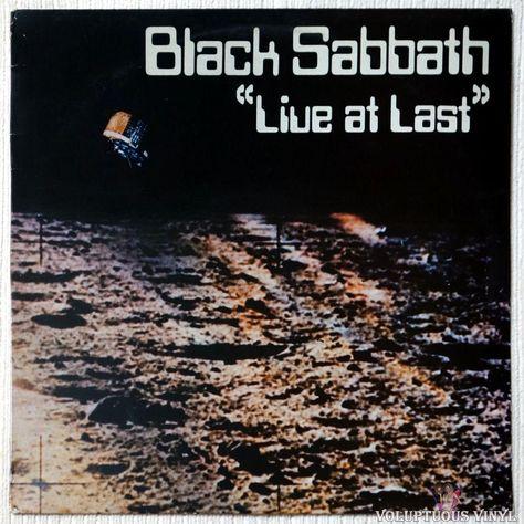 Black Sabbath Live At Last 1980 French Press In 2020 Black Sabbath Live Black Sabbath Albums Black Sabbath