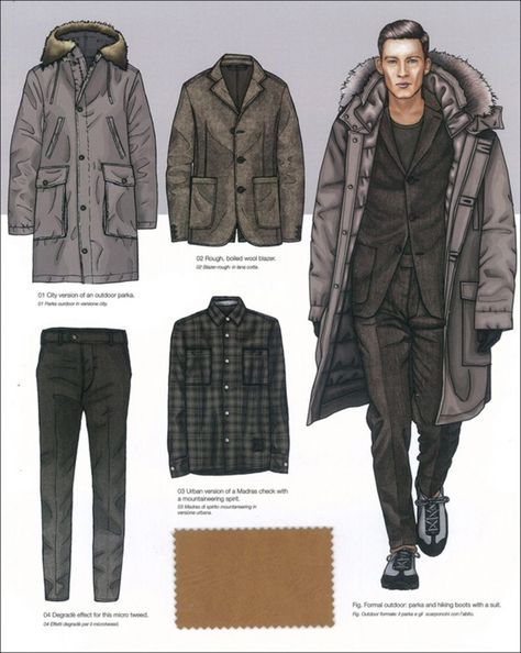 A   A VERY - Mens Fashion Trends - F/W 15/16 - A   A - Styling ... #MensFashionTrends