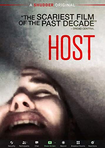 Host Haley Bishop Radina Drandova Jemma Moore Caroline Ward In 2021 Scary Films Dvd Blu Ray Blu Ray