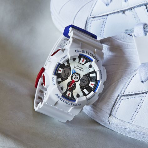 Olympian style. The G-SHOCK GA120TR-7A.
