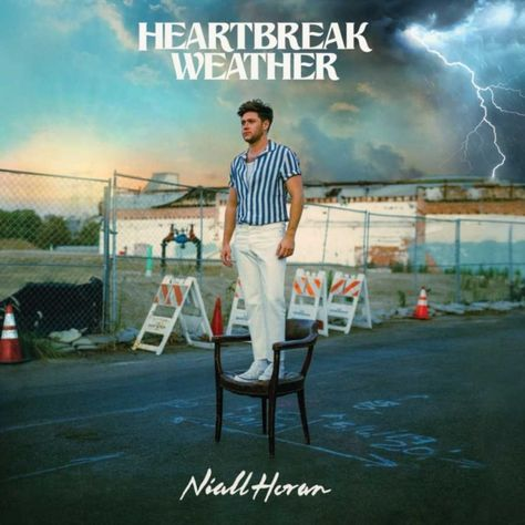 Niall Horan announces album Heartbreak Weather to release on.-Niall Horan announces album Heartbreak Weather to release on March drops a new single 'No Judgement' : Bollywood News – Bollywood Hungama - Cool Album Covers, Music Album Covers, Music Albums, Box Covers, 1d Albums, Four One Direction, One Direction Albums, Cyndi Lauper, James Horan