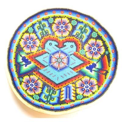 37 Best Huichol Indian Beaded Prayer Bowls Images On Pinterest