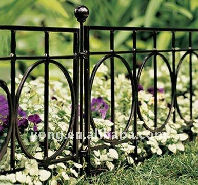 Decorative Fences   Plow Hearth Classic Iron Fence Garden Edging Iron  Pewter Finish 120L X 18H 8 Sections *** Check Out The Image By Visiting U2026 |  Pinteresu2026