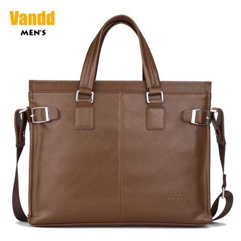 Aliexpress.com : Buy Vandd Men's Brown Soft PU Leather Zipper Tote Briefcase Fashion Shoulder Messsenger Bag from Reliable sport men bag suppliers on Vandd Men. $53.00
