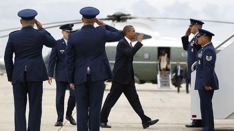 """Dass 84 Prozent der Deutschen Barack Obama eine """"gute Arbeit"""" im Amt…"""
