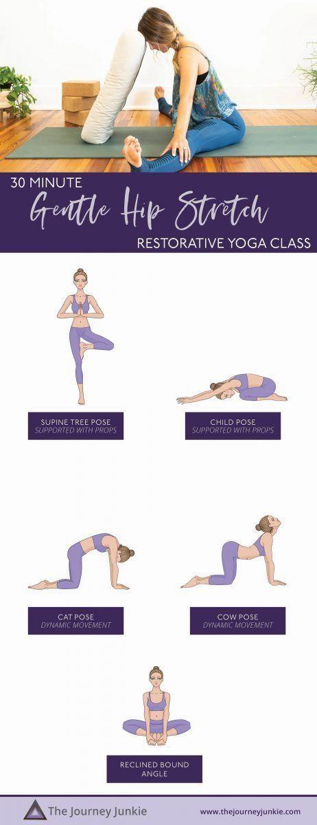 17++ 30 minute gentle yoga inspirations