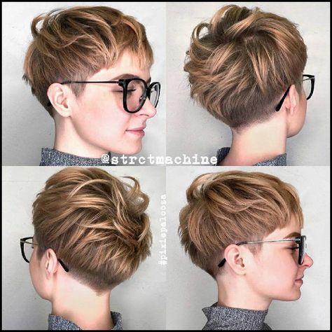10 Neue Kurze Frisuren Fur Dickes Haar Frauen Haarschnitt Ideen In