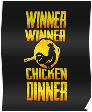 Winner Winner Chicken Dinner Poster By Pablovk92 Chicken Dinner Pablovk92 Poster Winner Winner Winner Chicken Dinner Chicken Dinner Mobile Wallpaper