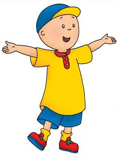 Cartoon Characters Caillou Caillou Pbs Kids Cailou