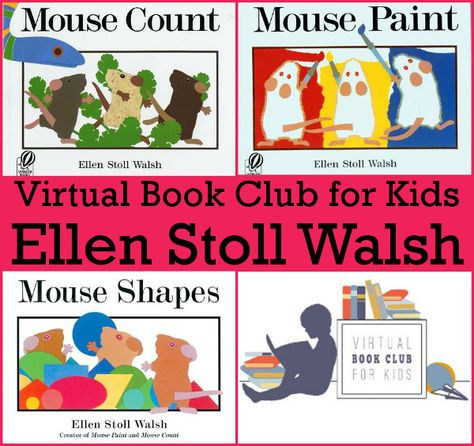 January Virtual Book Club: Ellen Stoll Walsh - 3Dinosaurs.com