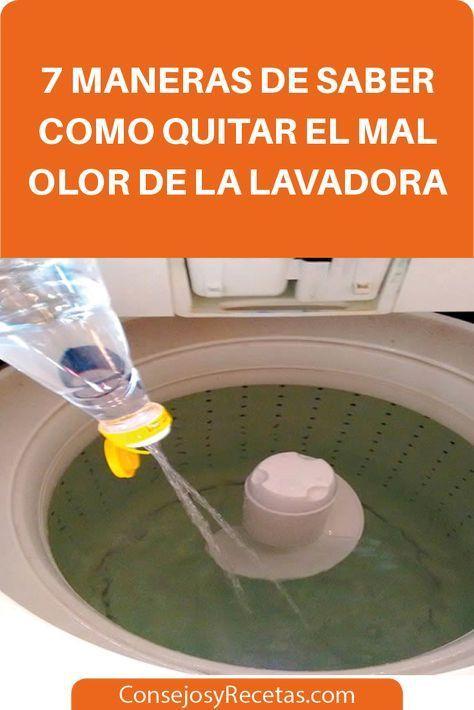 7 Maneras De Saber Como Quitar El Mal Olor De La Lavadora Ha Pasado Un Tiempo Desde Que Su Ropa Como Limpiar Lavadora Trucos De Limpieza Limpiar Lavadoras
