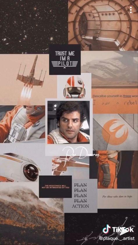 Star wars aesthetics background